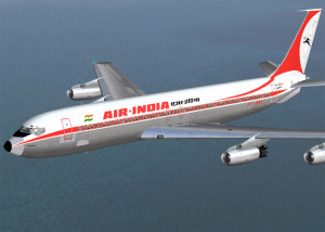 Arrival at the Delhi Airport
