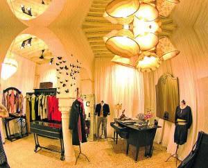 The shop Les Parisiennes in Delhi