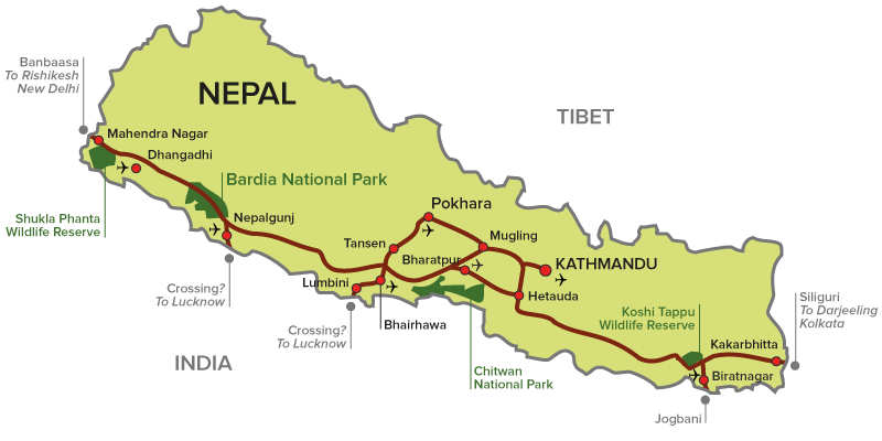 Bardia Nepal  city photo : How to reach Bardia National Park