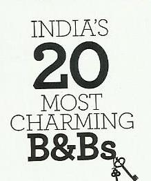Conde Nast Traveller India most charming B&Bs