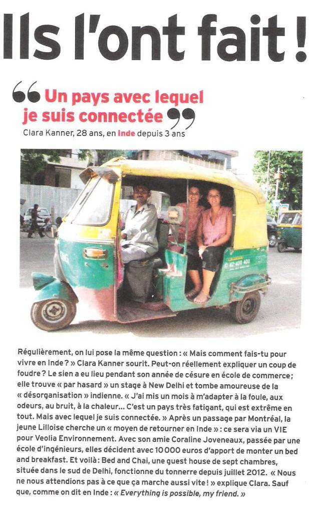 Article dans l'Express