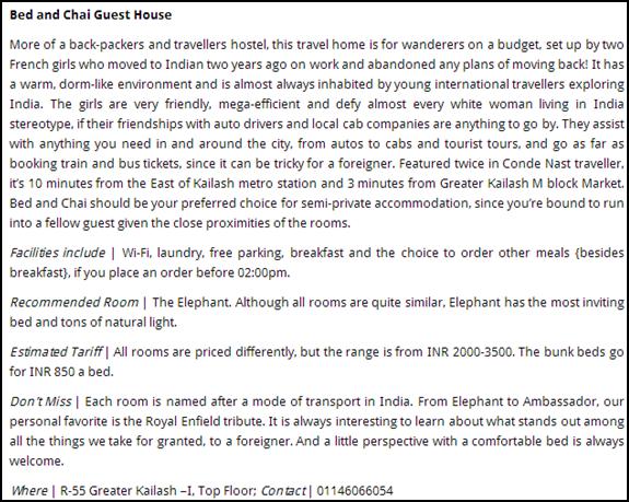 Little Black Book Delhi Article