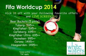 Football World Cup 2014 White Waters Café