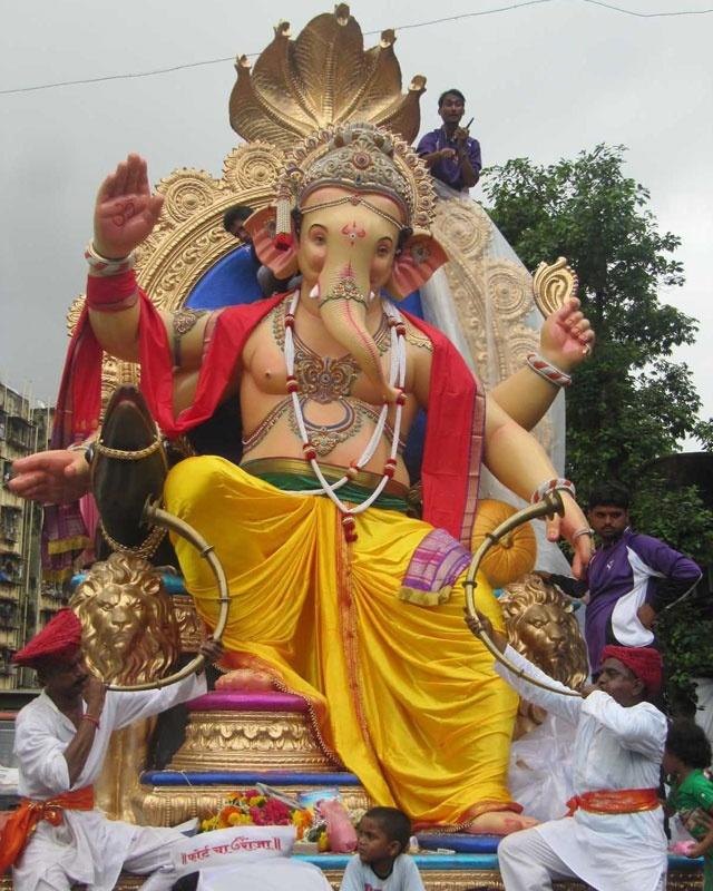 Ganesh Chaturthi Ganesh Chaturthi Festival Bed