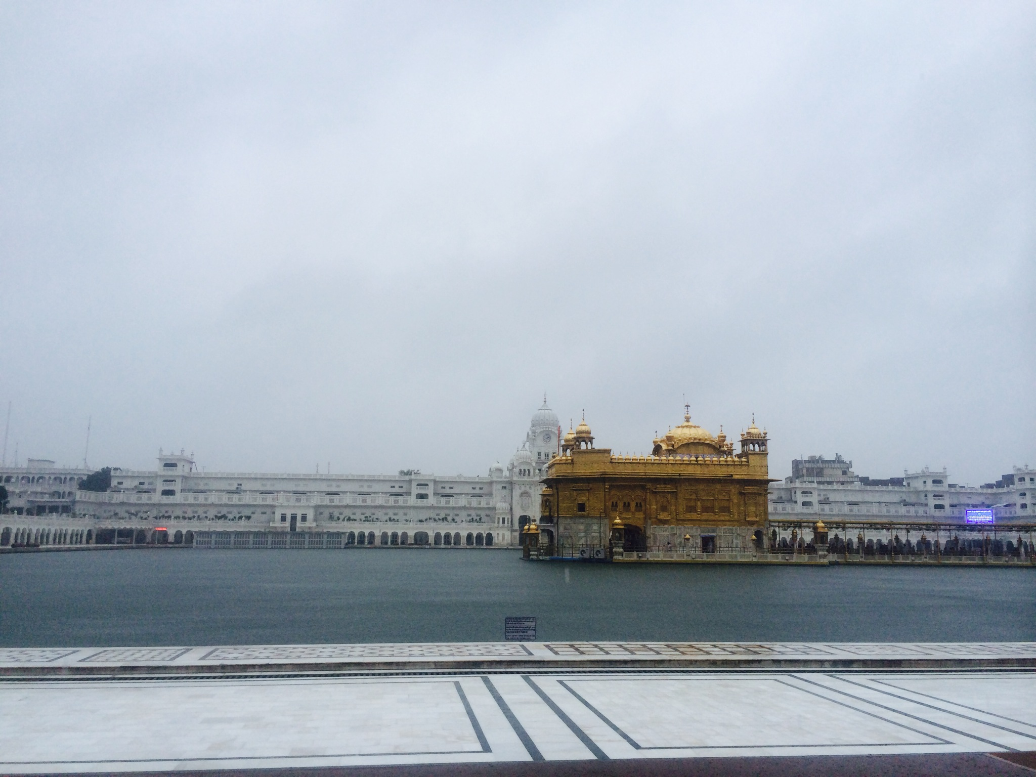 Le Temple d'Or, Amritsar