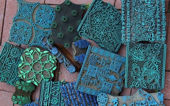 indian woodblock printing