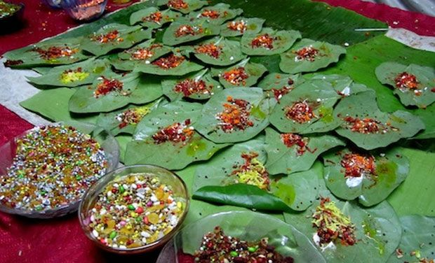 The paan or the Indian chewing-gum