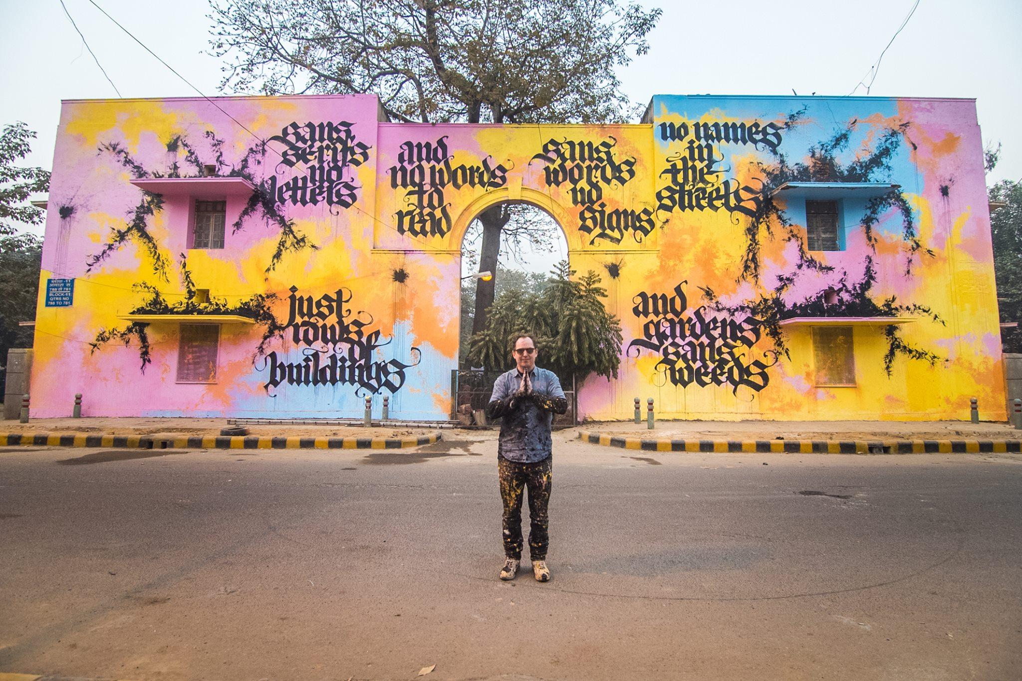 lodhi colony street art