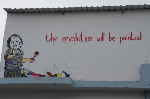 revolution will be painted