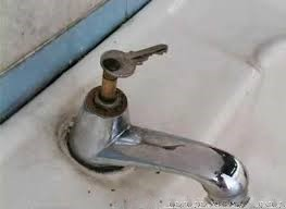Jugaad: key for sink